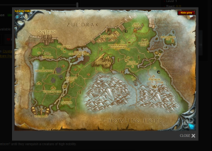 Grizzly Hills Map via Wowhead